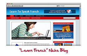 Learn French Niche WP Theme