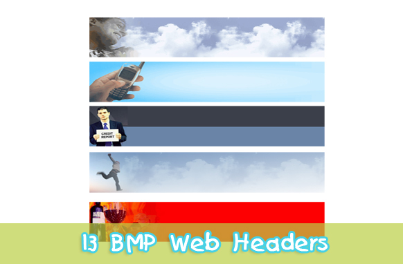 13 BMP Web Headers