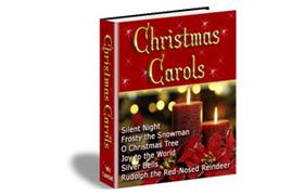 Christmas Carols HTML Product Template