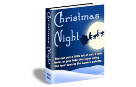 Christmas Night HTML Product Template