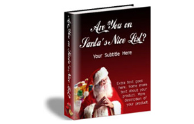Santas Nice List HTML Web Product Template