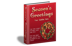 Season Greetings HTML Product Template