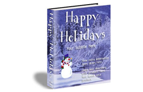 Snow Man HTML Web Product Template