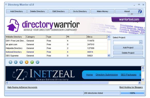 Directory Warrior