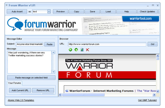 Forum Warrior