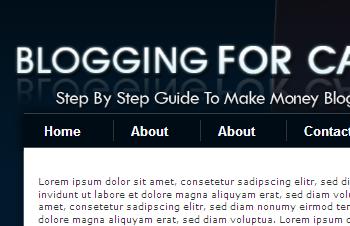Blogging Wordpress Default Theme