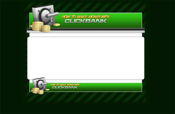 Clickbank HTML PSD Template Edition 2