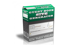 Guest Book Site Generator