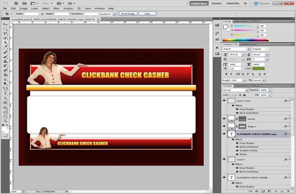 Clickbank PSD Template Edition 1