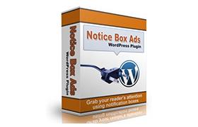 Notice Box Ads WordPress Plugin