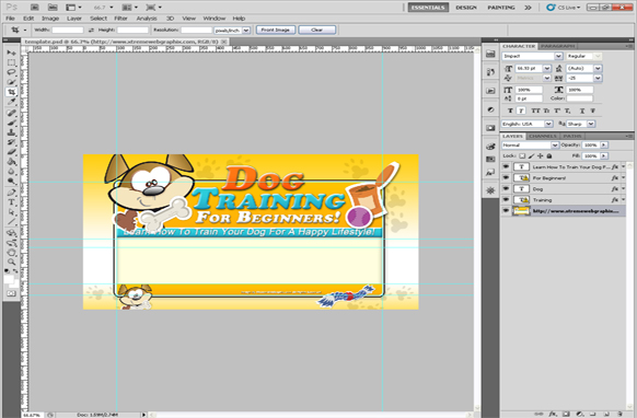 Dog Training For Beginners PSD Template