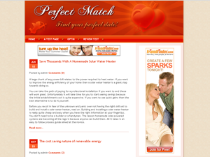 Dating Standard WP Theme