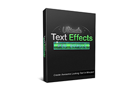Ultimate Text Effects PSD Bundle