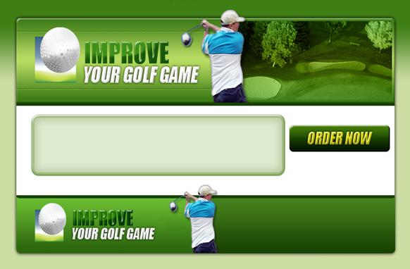 Golf PSD Website Template