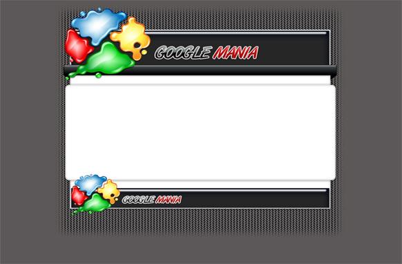 Google Mania HTML PSD Template