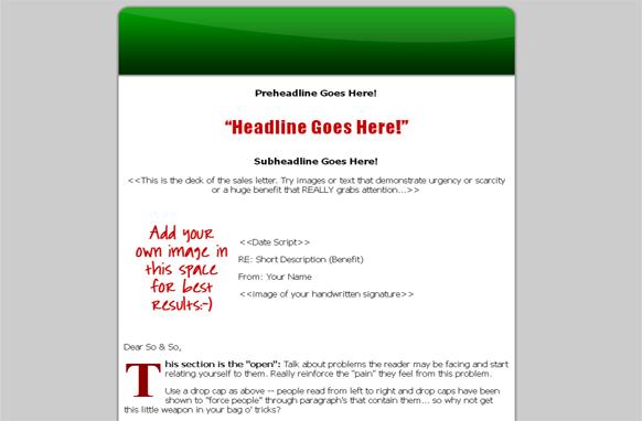 Green HTML Website Template