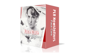 Face Care PLR Newsletters