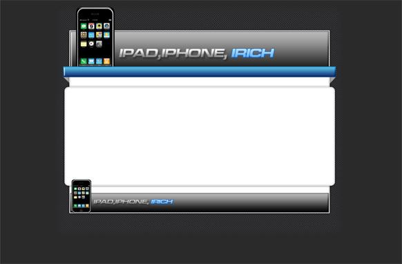 Mobile iRich HTML PSD Template
