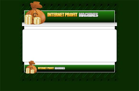 Money HTML PSD Template Edition 1