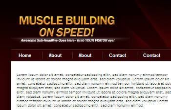 Muscle Building Review Wordpress Theme