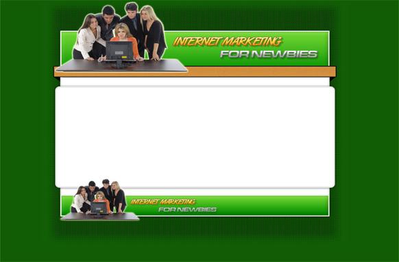 Newbies HTML PSD Template Edition 1