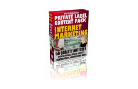 50 Private Label Content Internet Marketing