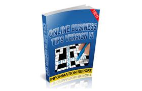 Online Business Tips V6