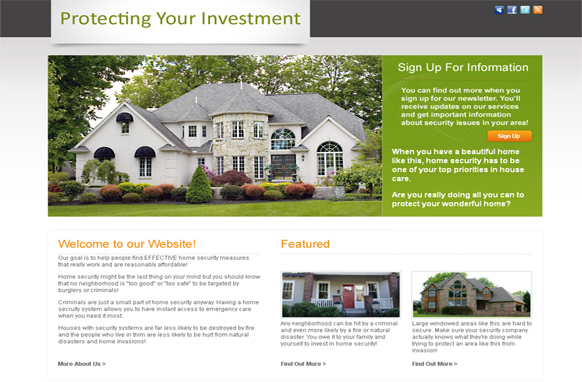 Real Estate HTML and PSD Template