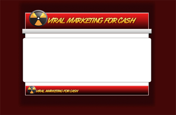 Viral Marketing HTML PSD Template Edition 1