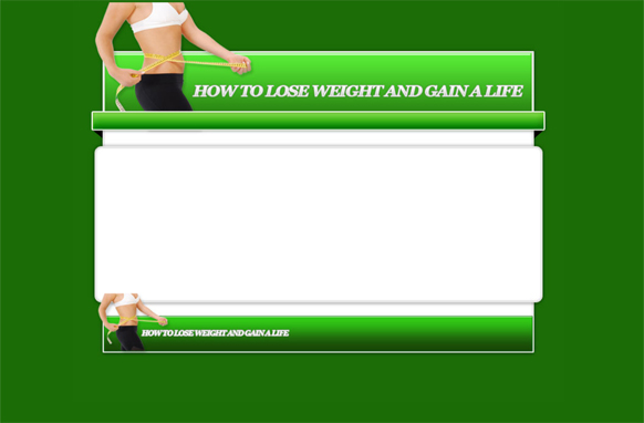 Weight Loss HTML PSD Template Edition 1
