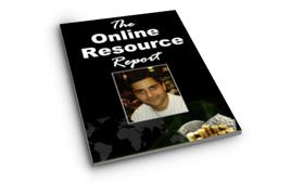 The Online Resource Report