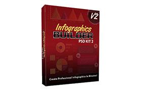 Infographics Builder PSD Kit 2
