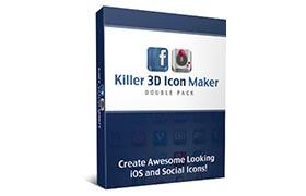 Killer 3D Icon Maker