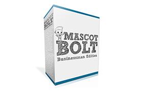 Mascot Bolt Businessman Edition