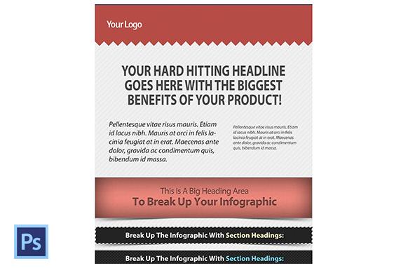 Master Web Infographics Template PSD – PLR Database