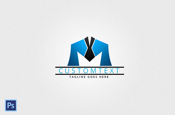 Modern Style PSD Logo Design 10