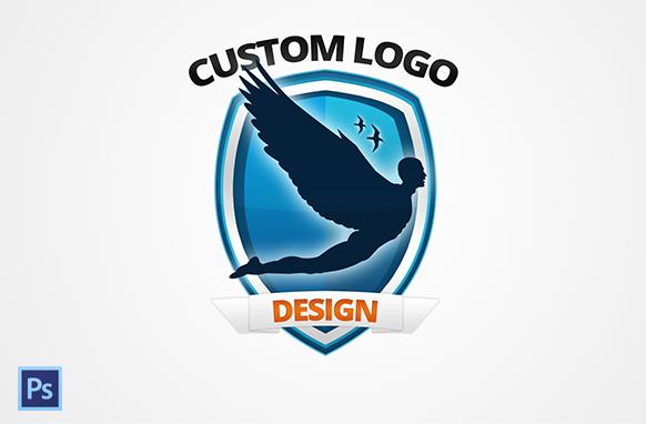 Modern Style PSD Logo Design 12