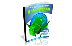 Going Green HTML PSD Template and WP Theme