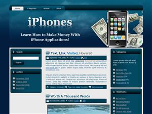 iPhones WordPress Theme