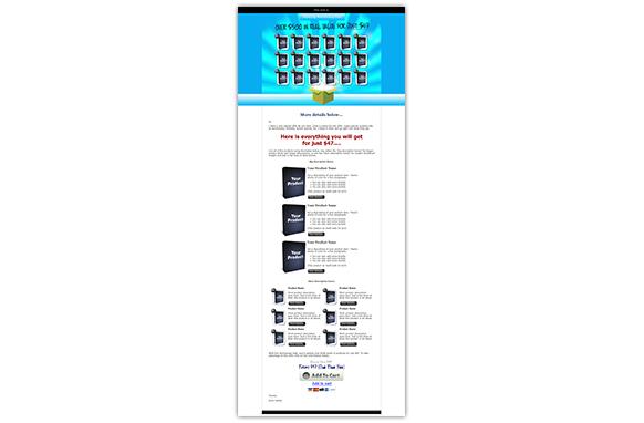OTO HTML PSD Web Template Edition 4