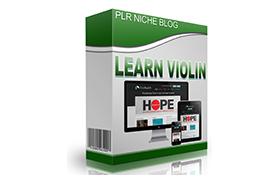 Learn Violin Niche WP Theme