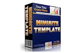 Minisite HTML PSD Template V4