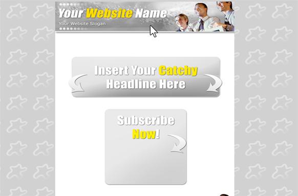 Minisite HTML PSD Template Volume 4