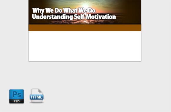 Motivation HTML PSD Template