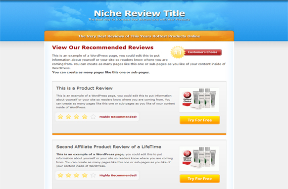 Multi Review HTML PSD Template Edition 4