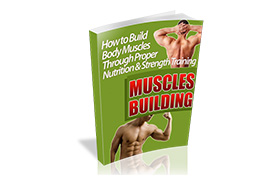 Muscle Building WP Ebook Template