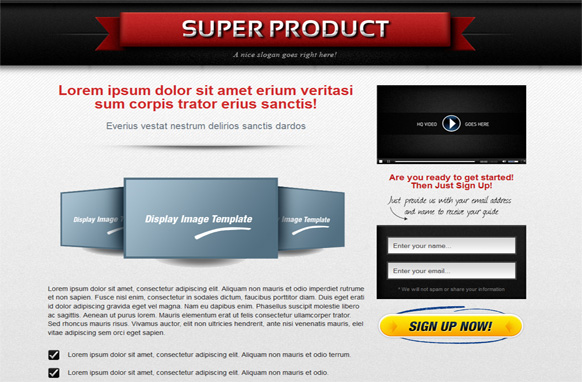 OTO HTML Squeeze Page Volume 4