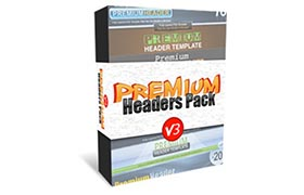 Premium Headers Pack V3