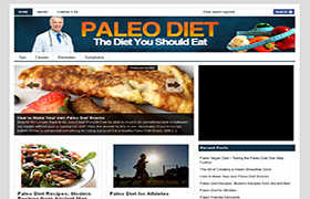 Paleo Diet Niche WP Theme