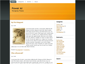 Power Ai WP Theme